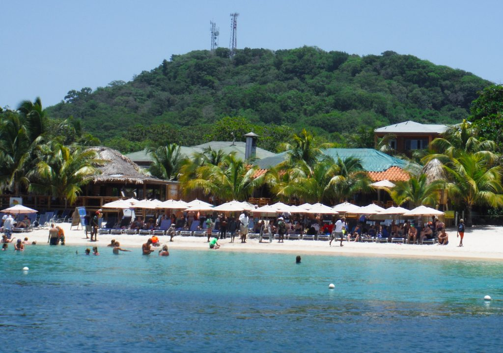 West Bay Beach Roatan Beach Break