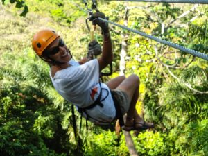 Zipline Tours in Roatan
