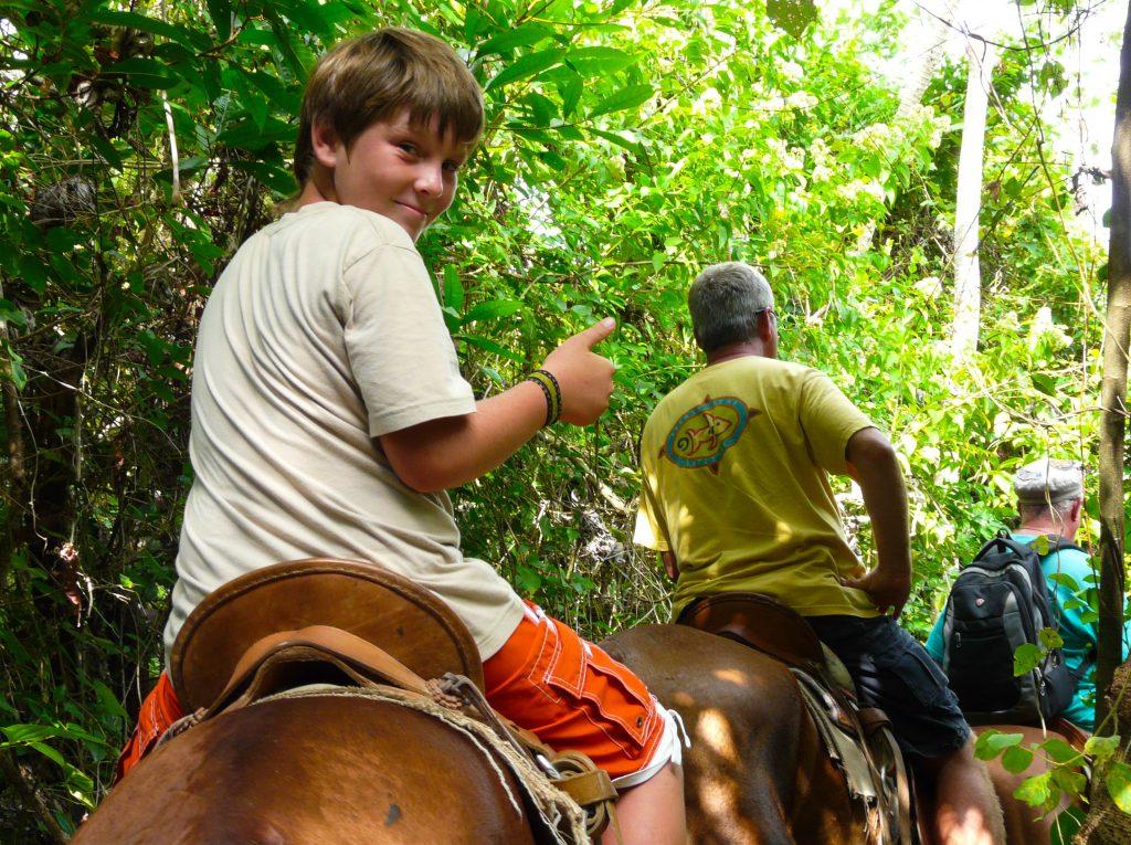 Kids Horseback Roatan