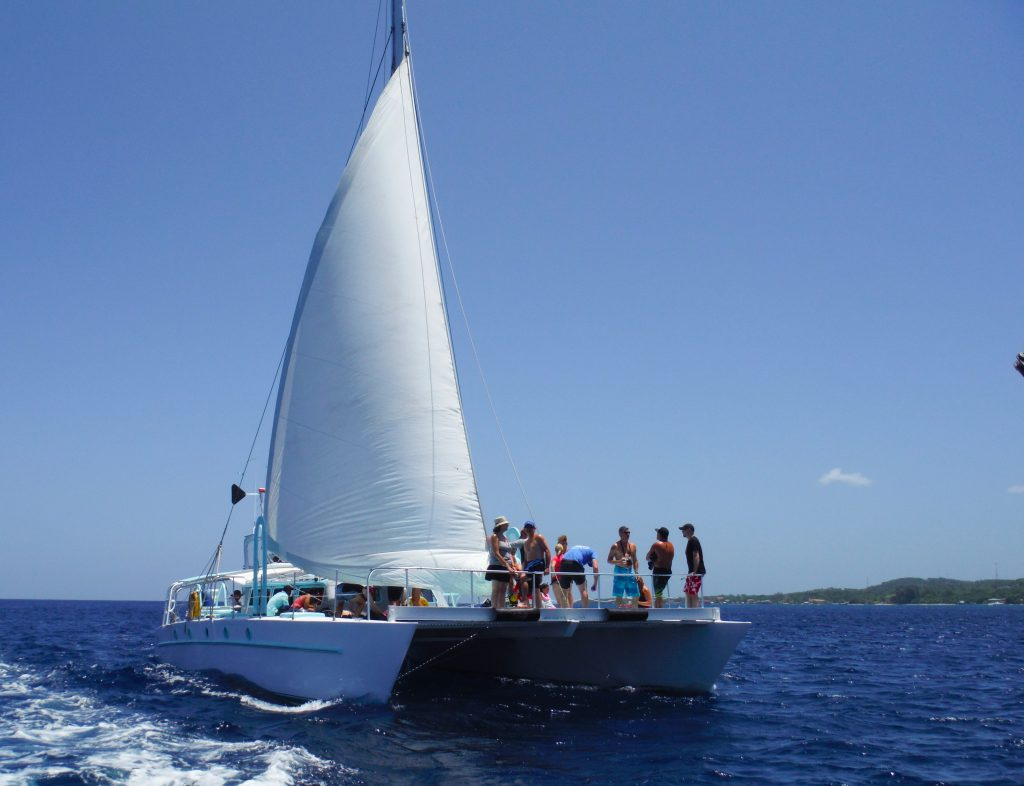 catamarans Roatan private